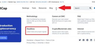 Coinmarketcap Introduces a 'Headlines' Section for Crypto News Updates 11
