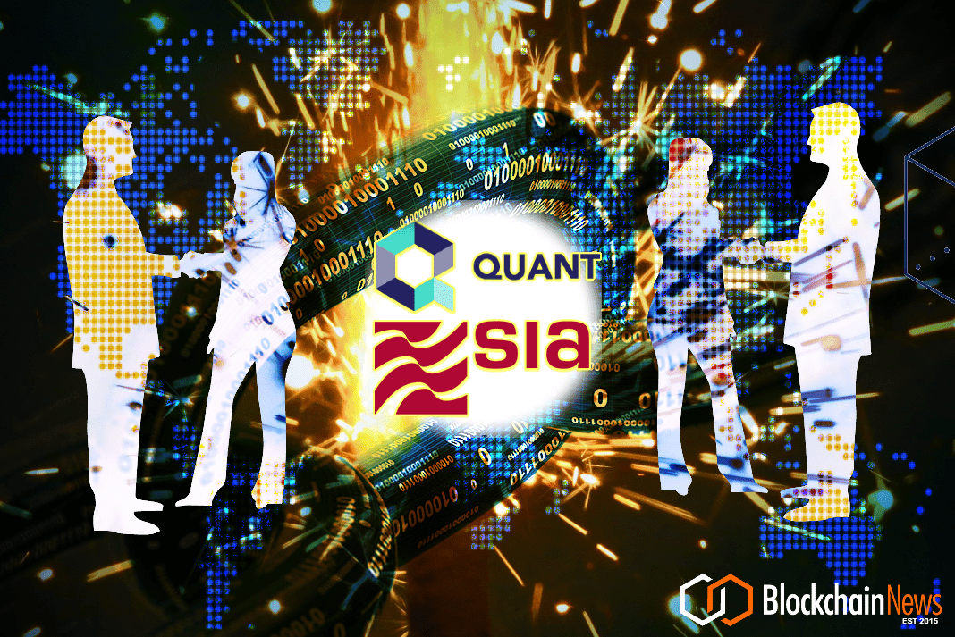 SIA, QUANT, BLOCKCHAIN, INTEROPERABILITY