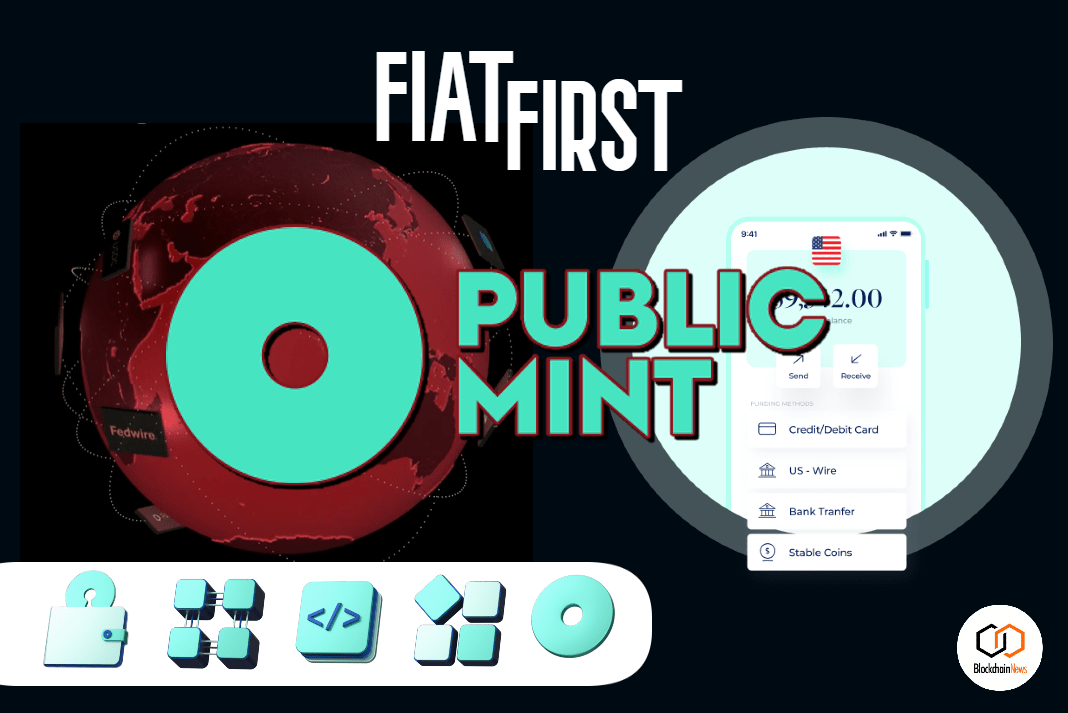 public mint, publicmint, fiat, blockchain, cryptocurrency, videocoin,