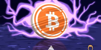 Bitcoin on Purple Fire