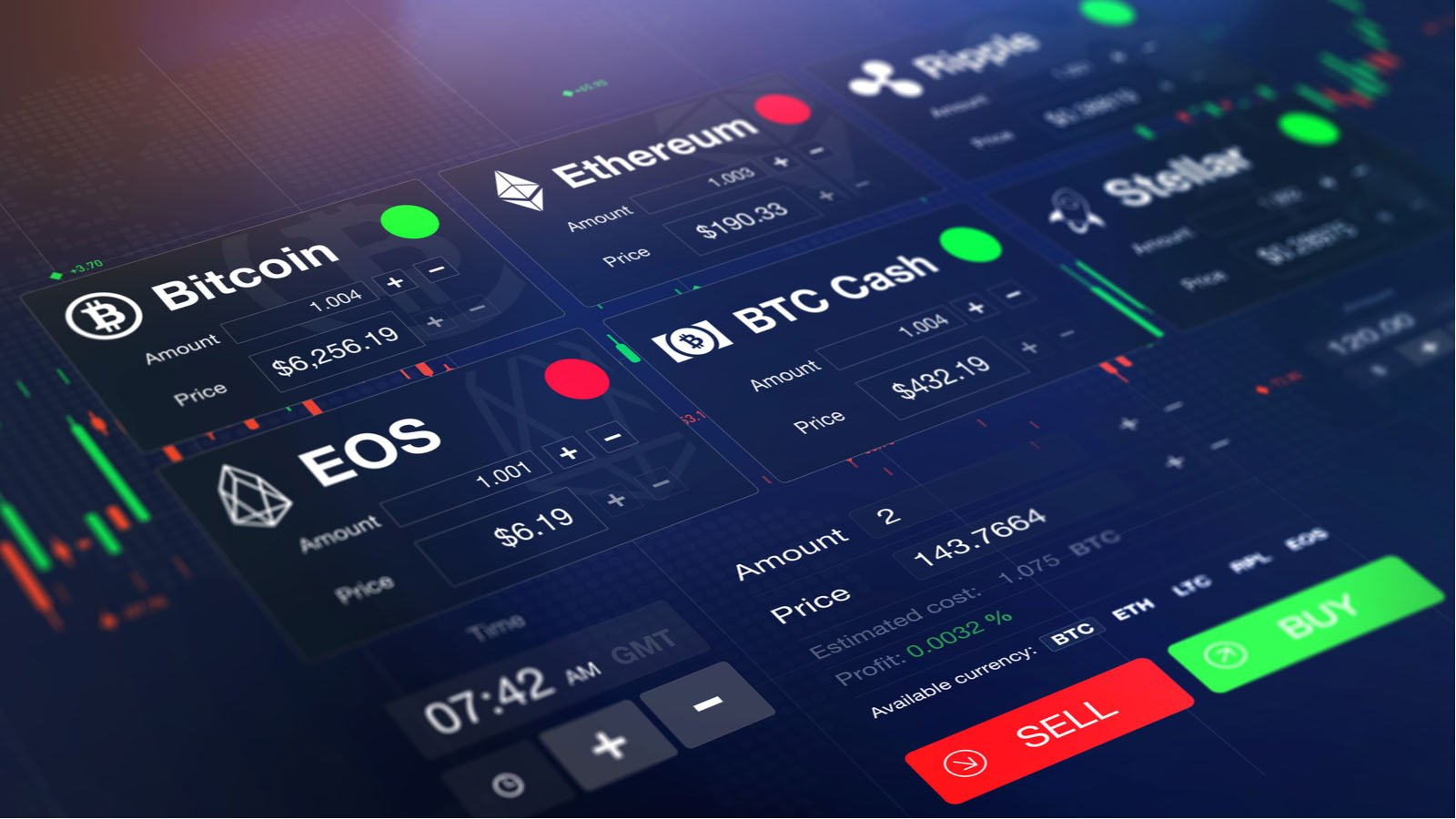 cryptocurrency stocks - 7 Cryptocurrencies to Stand the Test of Time