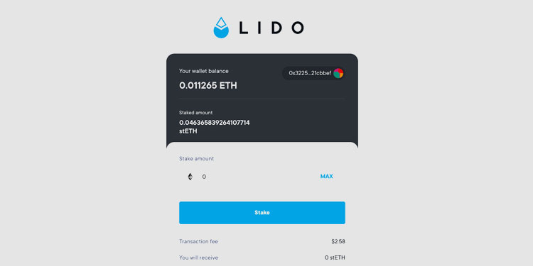 Staking Ethereum (ETH) is now live on Lido