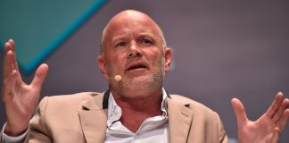 9 Trillion vs. 100 Trillion: Billionaire Mike Novogratz Asks Which Cryptocurrency Will Win the Payments Race