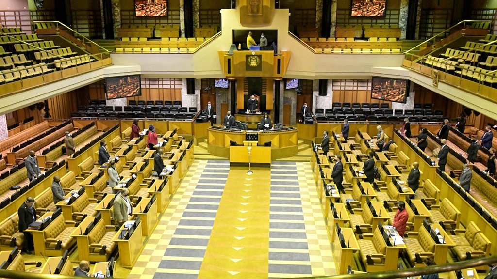 The first sitting of the National Assembly, on 27 May, after lockdown was announced two months before.
