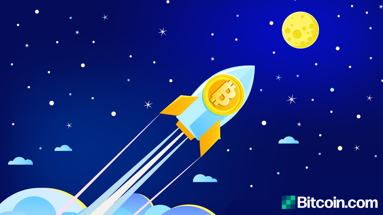 Bitcoin Value Leaps Over the $30K Handle, BTC Price Sees a Lifetime High in 2021