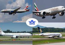 iata british airways emirates etihad singapore airlines