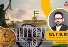 Finlaw Associates to Submit Draft Cryptocurrency Regulation to Indian Govt as Community Demands for Clarity, Mr. Mishra Explains