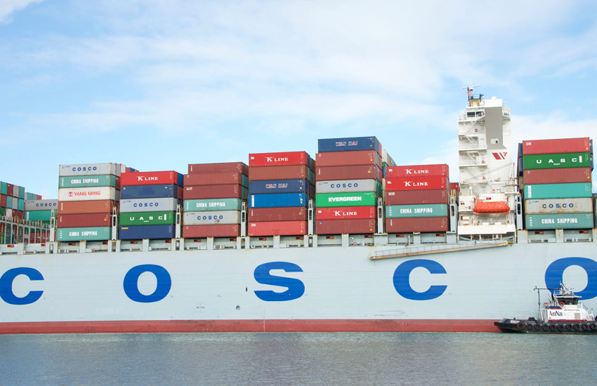container shipping cosco