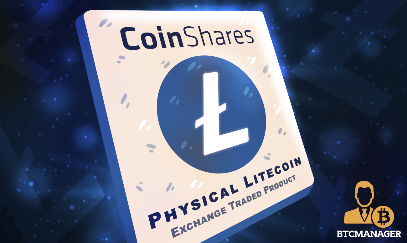 CoinShares Launches Litecoin Exchange Traded Product (ETP) as it Expands its Product Offering