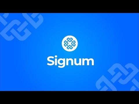 Signum, la primera blockchain verdaderamente sostenible del...